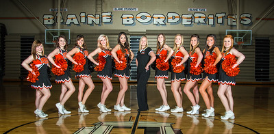 Blaine Cheerleaders, Basketball 2013