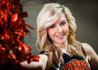 Blaine Cheerleaders, Basketball 2013