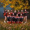 Blaine Football Cheerleaders, 2013