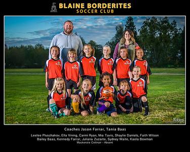 Blaine Youth Soccer, Blaine Fall 2013