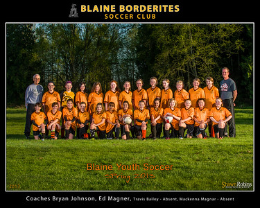 Blaine Youth Soccer 2013, Team, 8x10, Special