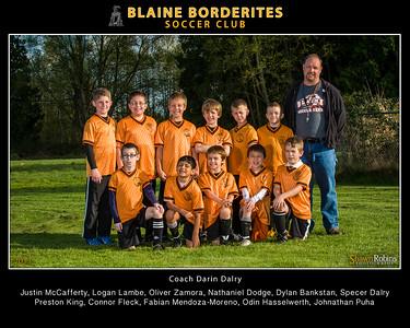 Blaine Youth Soccer 2013, Team, 8x10