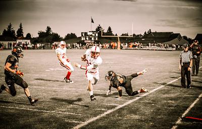 Blaine HS vs Bellingham HS, Football 2013