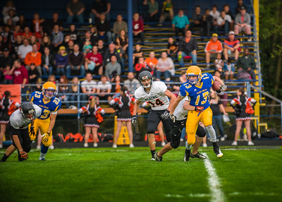 Blaine vs Ferndale in pre-season game 2013