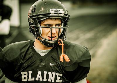 Blaine vs Fridy Harbor - Homecoming Game  2013