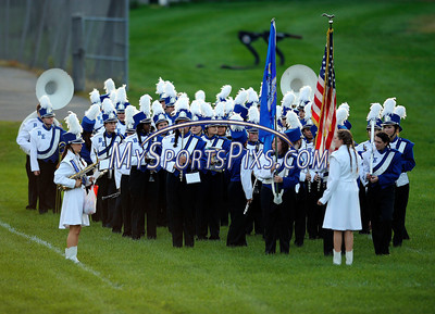 9/12/2013 Mike Orazzi | Staff The Bristol Eastern High School marching band on Friday night.