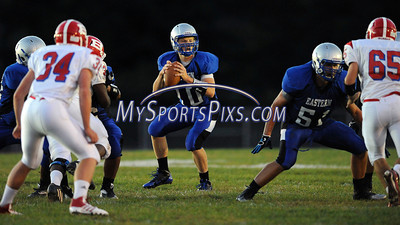 9/12/2013 Mike Orazzi | Staff Bristol Eastern's Tommy Curtin (10) during Friday night's football game.