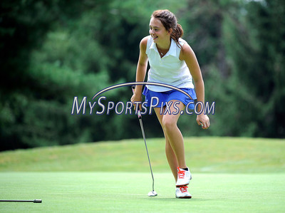 7/24/2013 Mike Orazzi | Staff Emma Heim while participating in the 36-Hole Cas Coscina Memorial JR Invitational at the Stanley Golf Course in New Britain on Wednesday.