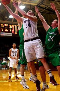 MHS / Alleman Basketball Wharton Fieldhouse