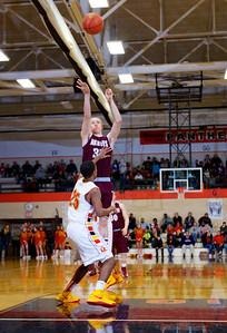 MHS / Rocky Basketball Regional Playoffs United Township high School
