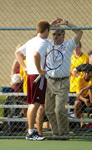 Moline High School Varsity Tennis Sectionals