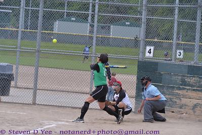 20130519 - Gina & Jo Softball