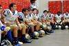 Kelly Bulldogs listen to a coach at Bridge City Stadium Friday night. Photo provided by Drew Loker.