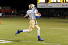Kelly's Allonte Wingate, 2, on a quarterback keeper, runs 21 yards and coasts into the end zone for a touch down just before halftime at Bridge City Stadium Friday night. Photo provided by Drew Loker.