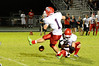 Hardin-Jefferson attempts a punt against East Chambers at Buccaneer Stadium Friday night. Photo provided by Drew Loker.
