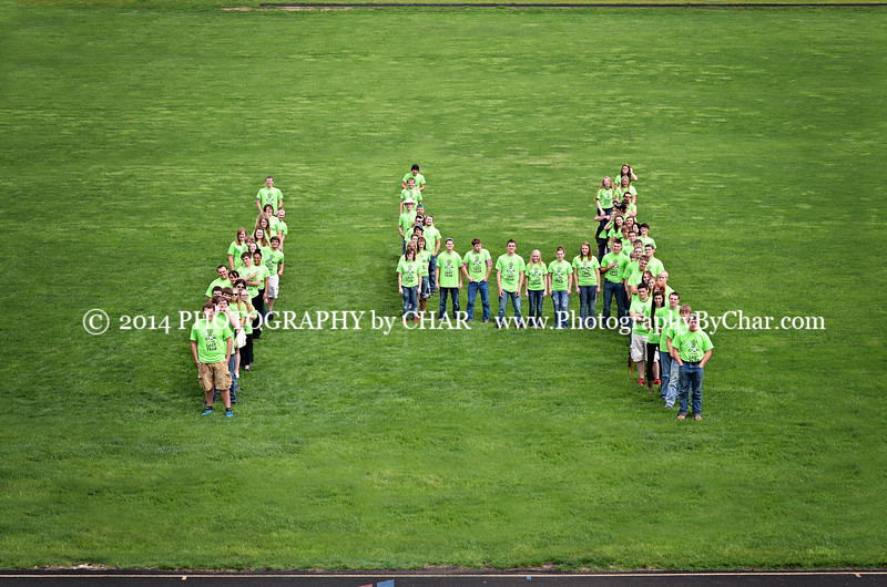 14 football field UCHS 2014 Seniors V
