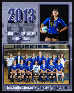 Volleyball Portraits 2013