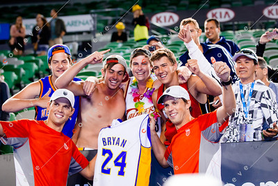 Bob and Mike Bryan's no. 1 fans