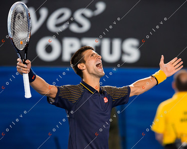 Novak wins the 2013 Australian Open