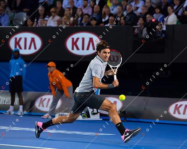 Federer vs Tomic