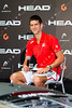 HEAD Graphine Raquet launch with Novak Djokovic