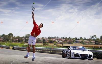 HEAD Graphine Raquet launch with Novak Djokovic
