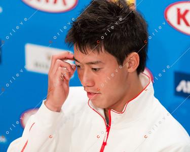 Kei Nishikori Interview