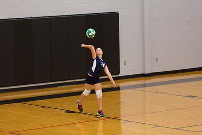 2014-09-11-Howard 7th Grade Volleyball A