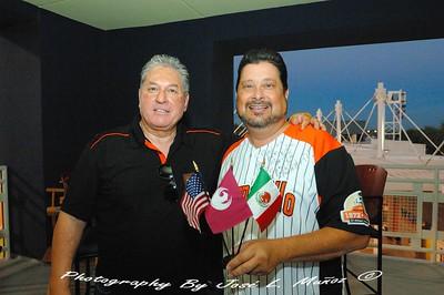 2014-09-19-034  Juan Aguirre, General Manager, Naranjeros de Hermosillo Michael Nowakowski, Phoenix City Councilman & Phoenix Sister Cities Hermosillo Liaison