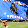 The West Brook Bruins match up against the North Shore Mustangs at the Carroll Thomas Stadium September 26, 2014. Photo by Drew Loker.