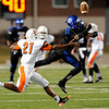 The West Brook Bruins take on the La Porte Bulldogs at the Carroll Thomas Stadium October 23, 2014. Photo by Drew Loker