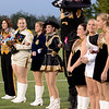 The Vidor Pirates prepare for the start of the game against the Central Jaguars at the Carroll Thomas Stadium October 24, 2014. Photo by Drew Loker