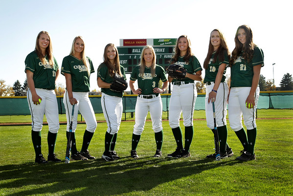 CSU 2015 Softball Team Photos