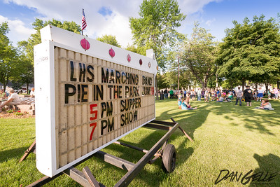 Litchfield Marching Band Pie in the Park