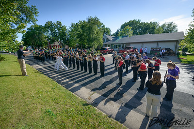 Litchfield Marching Band at Waconia Band Festival