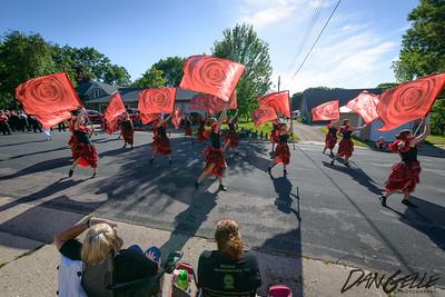 Litchfield Marching Band at Waconia Band Festival