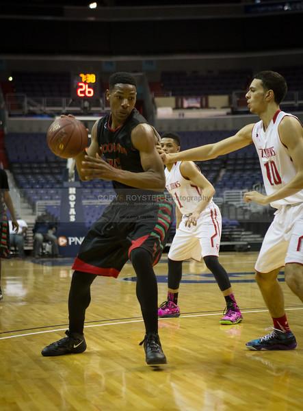 HD Woodson vs St John's - DCSAA Boys Basketball Semifinal