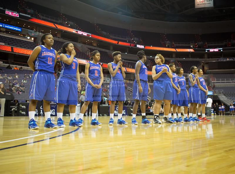 Anacostia vs Georgetown Visitation - DCSAA Girls Basketball Semifinal