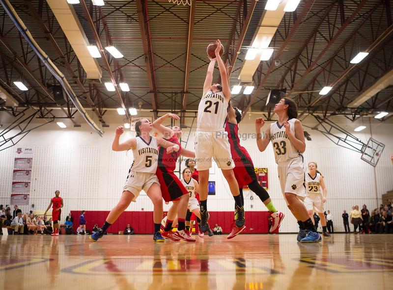St  John's vs Georgetown Visitation  - DCSAA Girls Title Game