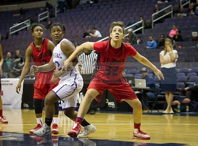 St. John's vs National Cathederal - DCSAA Girls Basketball Semifinal