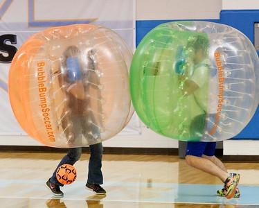 Bubble Bump Soccer at Sheridan College