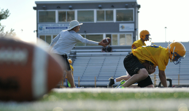 Football season has officially begun. The Sheridan Broncs opened the 2014 season on Monday when they took to the field for their first official practice of the year. The Broncs will play their first game on August 29 at home against Laramie. The Sheridan Press Mike Pruden
