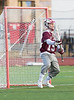 Boys Varsity High School Lacrosse.  St. Joseph's Collegiate Institute Marauders at Corning Hawks. April 5, 2014
