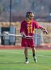 Boys High School Junior Varsity Lacrosse. Ithaca Little Red at Corning Hawks. April 10, 2014.