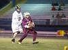 High School Boys Varsity Lacrosse.  Whitney Point Eagles at Corning Hawks. April 25, 2014.