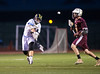 High School Boys Varsity Lacrosse.  Whitney Point Eagles at Corning Hawks. April 25, 2014.