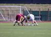 High School Boys Junior Varsity Lacrosse.  Whitney Point Eagles at Corning Hawks. April 25, 2014.