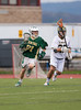 Boys High School Varsity Lacrosse. #1 Vestal Golden Bears at #2 Corning Hawks. May 9, 2014.