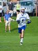 Boys High School Varsity Lacrosse.  Corning Hawks at Horseheads Blue Raiders. May 15, 2014.