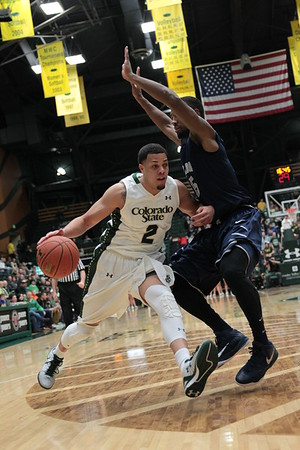 CSU vs. Nevada MBB 2015